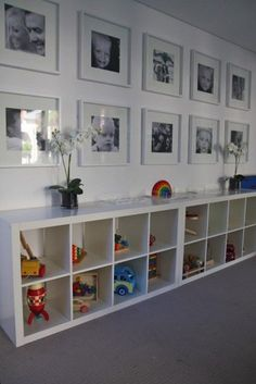 22 Kid-Friendly Playroom Storage Ideas – decorisme - Home Dekor Playroom Organization, Playroom Decor, Playroom Design, Organized Playroom, Children Playroom, Storage For Playroom, Boys Playroom Ideas, Organization Ideas, Playroom Lounge