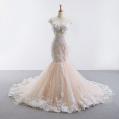 Check out the best seller with amazing prices on the biggest online stores over the world. Fill in your wishlist today! Mesh Crop Top, Crop Tops, Illusion Dress, Nice Dresses, Beautiful Dresses, Cap Sleeves, Illusions, Bridal Dresses, Champagne