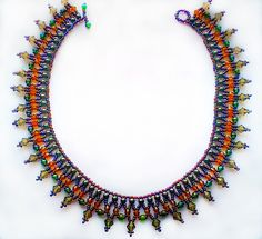 Free pattern for beaded necklace Amity | Beads Magic