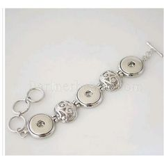 Wholesale hot selling snaps jewelry buttons bracelets factory snaps buttons from www partnerbeads com KB0256