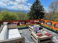 Outdoor Sectional, Sectional Sofa, Outdoor Furniture Sets, Outdoor Decor, Pyrenees, Spain, Villa, Luxury, Home Decor