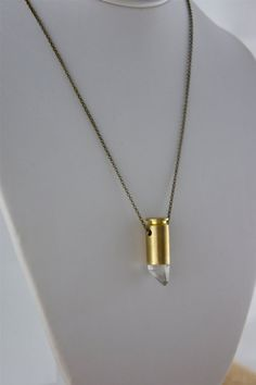 Lemurian Seed Crystal .40 Caliber Bullets - Wear your Wounds with Pride!