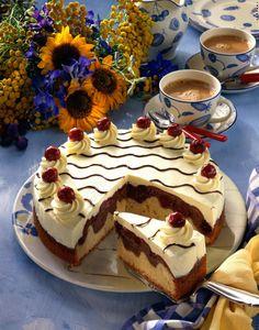 Unser beliebtes Rezept für Feine Donauwellen-Torte und mehr als 55.000 weitere kostenlose Rezepte auf LECKER.de.