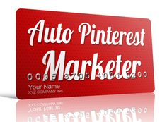 Auto Pinterest Marketer | Marketing on Pinterest On Autopilot