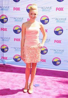 Peyton List at the Teen Choice Awards