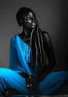 Black Is Beautiful - Beauty Beautiful Dark Skinned Women, My Black Is Beautiful, Beautiful People, Black Girls Rock, Black Girl Magic, Dark Skin Beauty, Natural Beauty, Black Women Art, Black Art