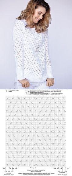 Crochet Patterns Sweaters Elegant white cardigan – knitting pattern for crochet Baby Knitting Patterns, Knitting Stiches, Lace Knitting, Crochet Patterns, Crochet Jacket, Knit Crochet, Filet Crochet, Crochet Fashion, Crochet Clothes