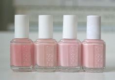 Essie Sheer Pink Comparison : Mademoiselle, Vanity Fairest, Sugar Daddy &…