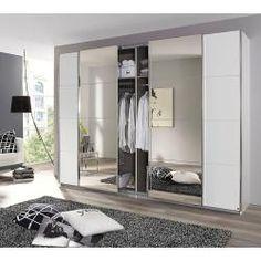 Sliding door wardrobe Syncrono-C RauchRauch - Modern Master Bedroom Closet, Bedroom Wardrobe, Wardrobe Closet, Sliding Wardrobe, Built In Wardrobe, Dressing Room Design, Built In Furniture, Fitted Wardrobes, Wardrobe Design