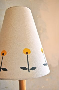 printed lamp shades