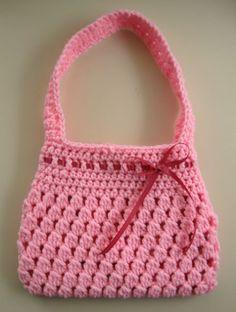 Free Crochet Pattern - Bobble-licious Bag