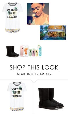 """Finally Here"" by thegloup-reina on Polyvore featuring New Look, UGG Australia and Clinique"