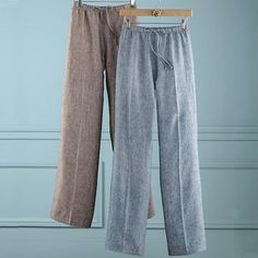 Carolyn Linen Drawstring Pants