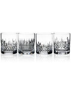 Waterford Lismore Evolution Tumbler Glasses, Set Of 4