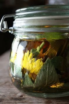 Easy poison ivy remedy. Jewel weed, calendula, apple cider vinegar... Steep in aglass jar. Keep in fridge and apply as needed