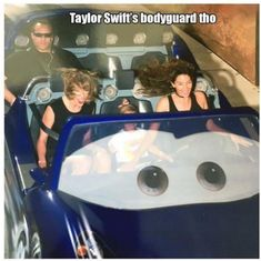 Taylor Swift body guard face