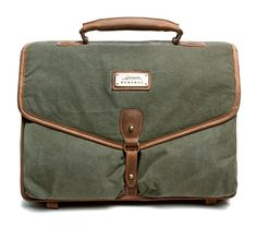 Laptop case- Salvaged top quality, vintage US military canvas, restored to it's original brilliance, cut up and transformed into beautiful bags that will last a lifetime.