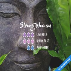 Read the TOP 7 LAVENDER Oil BENEFITS. LAVENDER DIY Recipes Strong Woman - Essential Oil Diffuser Blend
