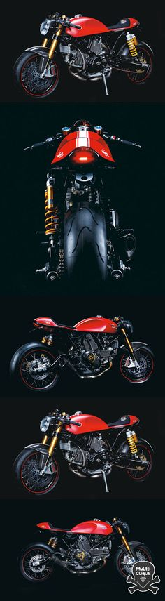 Ducati Sport to of - Motorcycle Custom Moto Ducati, Ducati Cafe Racer, Ducati Motorcycles, Cafe Bike, Cafe Racer Bikes, Moto Bike, Cafe Racer Motorcycle, Motorcycle Design, Girl Motorcycle