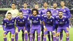 Equipos de fútbol: REAL MADRID contra Betis 15/10/2016