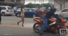 Moment Captured When A Speeding Motorcyclist Collided With A Former American Idol Contestant!  http://theinsidedrop.com/moment-captured-when-a-speeding-motorcyclist-collided-with-a-former-american-idol-contestant/