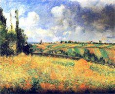 Fields, Camille Pissarro