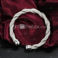 MISS U Women's Fashion Originality Torsion Wire Bracelet. Only $3.53