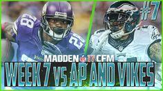 Madden NFL 17 Franchise | Eagles vs Vikings | BIG DECISIONS! Ep #7