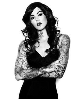 Tattoo Model - Kat Von D