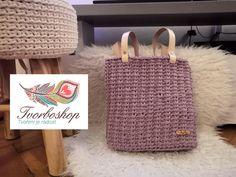 Straw Bag, Crochet, Creative, Handmade, Bags, Youtube, Tutorials, Trapillo, Handbags