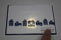 LED Weihnachtskarte www.stempeltasia.de