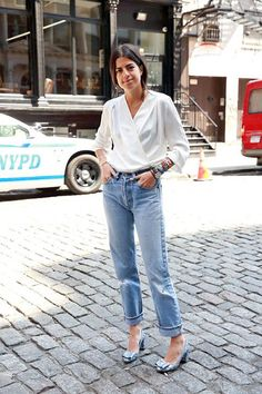A Blogger's Easy, Yet Elevated Denim Look To Try Now | Le Fashion | Bloglovin'