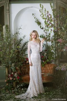 Claire Pettibone Fall 2016 Couture Wedding Dresses — The Gilded Age Bridal Campaign   Wedding Inspirasi