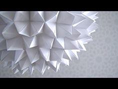 Aprende a hacer una increíble y sencilla lámpara de origami para tu espacio favorito. Aquí te cuento cómo.
