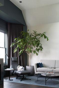 Lounge adjacent study - Lassen House, San Francisco. Renovation & Interiors by Luft Design. Photographed by Suzanna Scott