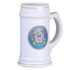 U.S. Coast Guard Emblem Mugs