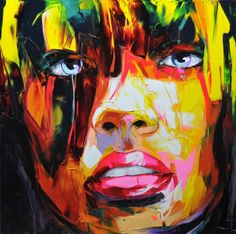 25 Vibrant and Explosive Colorful Paintings by Francoise Nielly