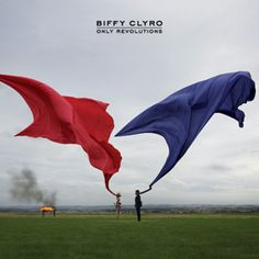 Only Revolutions by Biffy Clyro. Designed by Storm Thorgerson. The album is named after the novel Only Revolutions by Mark Z. Storm Thorgerson, Greatest Album Covers, Cool Album Covers, Music Album Covers, Music Albums, Dream Theater, The Mars Volta, Pink Floyd, Biffy Clyro Only Revolutions