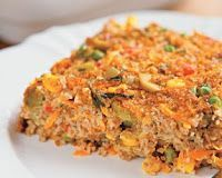 Cantinho Vegetariano: Quibe Assado de Legumes (vegana)