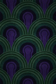 The Overlook Hotel — iOS wallpaper patterns inspired by the various carpets in The Shining