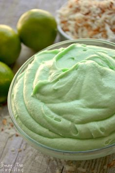 Lime Cream Cheese Frosting