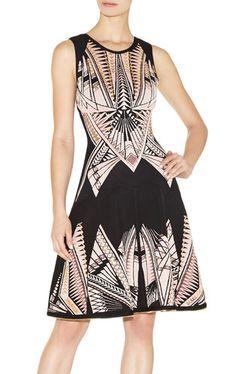 56d3346a44a9 Polina Tattoo-Jacquard Dress