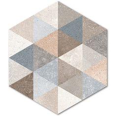 Kolekcja Rift - płytki podłogowe Hexágono Fingal 23x26,6