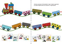 Bartos Erika honlapja - BOGYÓ ÉS BABÓCA FOGLALKOZTATÓ Learning Activities, Kids Learning, Diy For Kids, Crafts For Kids, Diy And Crafts, Paper Crafts, Baby Room, Preschool, Kids Rugs