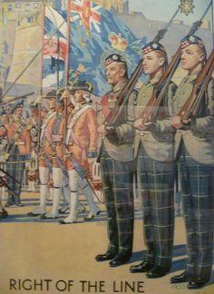 Royal Scots recruiting poster, Edinburgh Castle