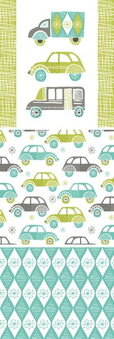 wendy kendall designs – freelance surface pattern designer » fifties vehicles