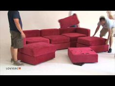69 LoveSac Sactional Positions. want this!!!