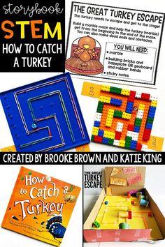 Storybook STEM How to Catch a Turkey!