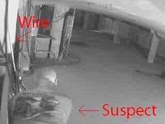 Security system vs. Wire Thief... Guess who won?
