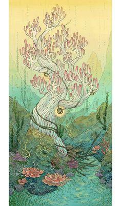 Волшебный мир Nimasprout от художницы и сказочницы Николь Гюстафсон - Ярмарка Мастеров - ручная работа, handmade